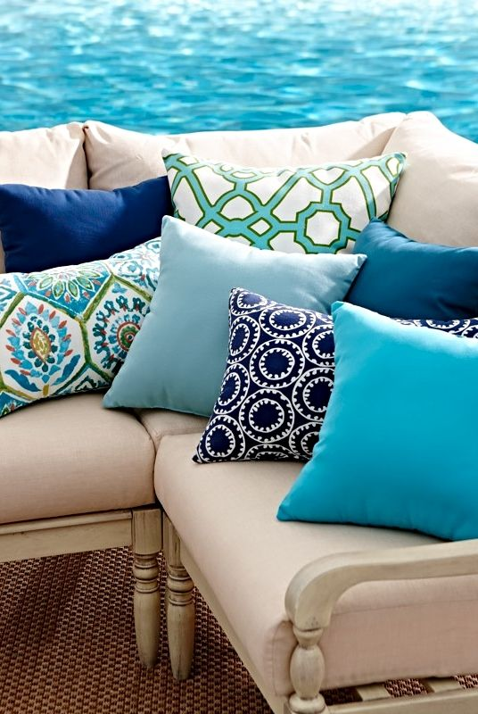 pillows outdoor