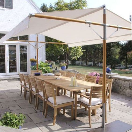 outdoor shade for florida summer