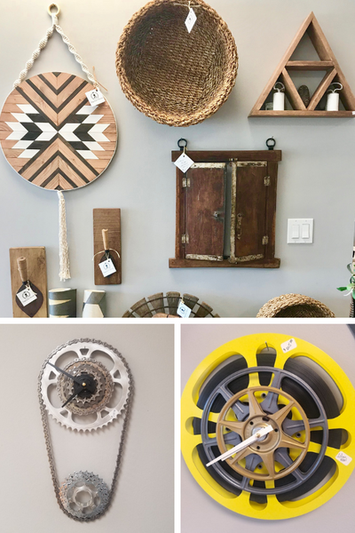 unique wall decor for modern industrial farmhouse