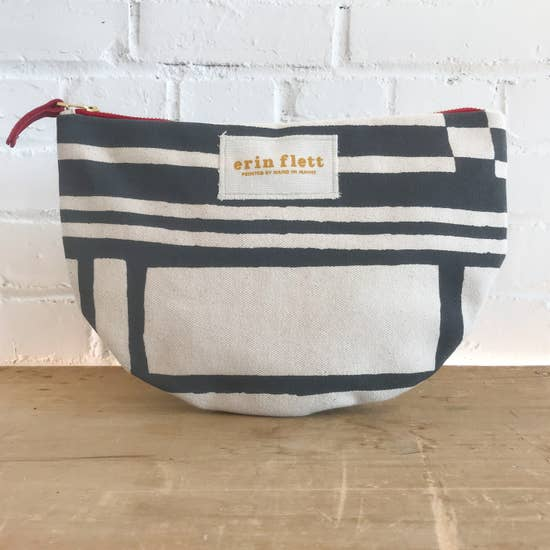 Black and white moon bag