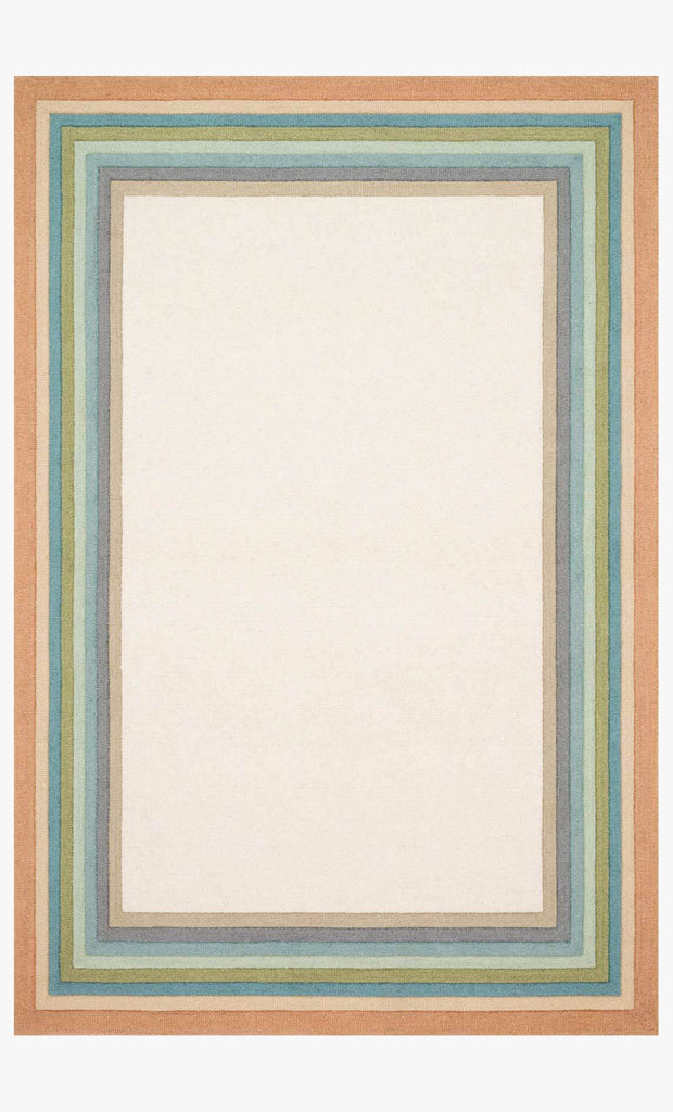 Painted Stripe Pastel rug