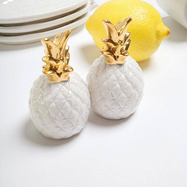 Pineapple Salt and Pepper Shakers