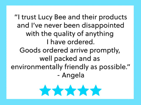 Lucy Bee Company Review: Angela