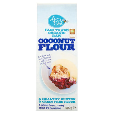 Organic Raw Coconut Flour Pack Shot