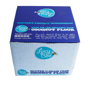 Top View of Organic Coconut Flour Box (SRP)