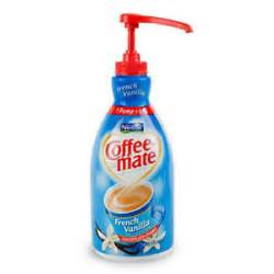 Nestle French Vanilla Coffee-Mate Pump
