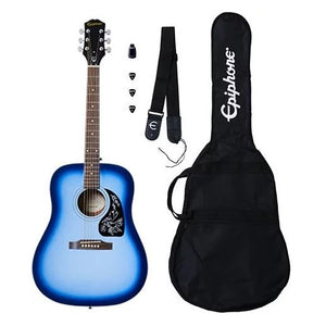 Fret Zealot +   Epiphone Starling Acoustic Pack | Starlight Blue
