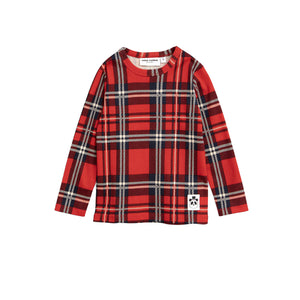Mini Rodini - Check Long Sleeve Tee