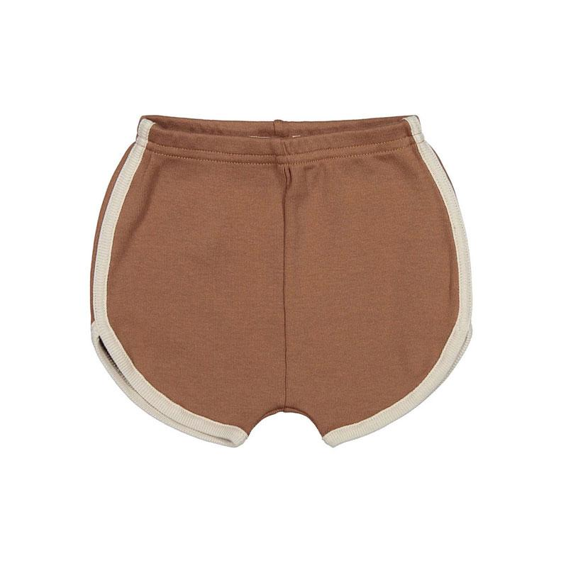 Fin and Vince - Vintage Track Shorts (Cinnamon)