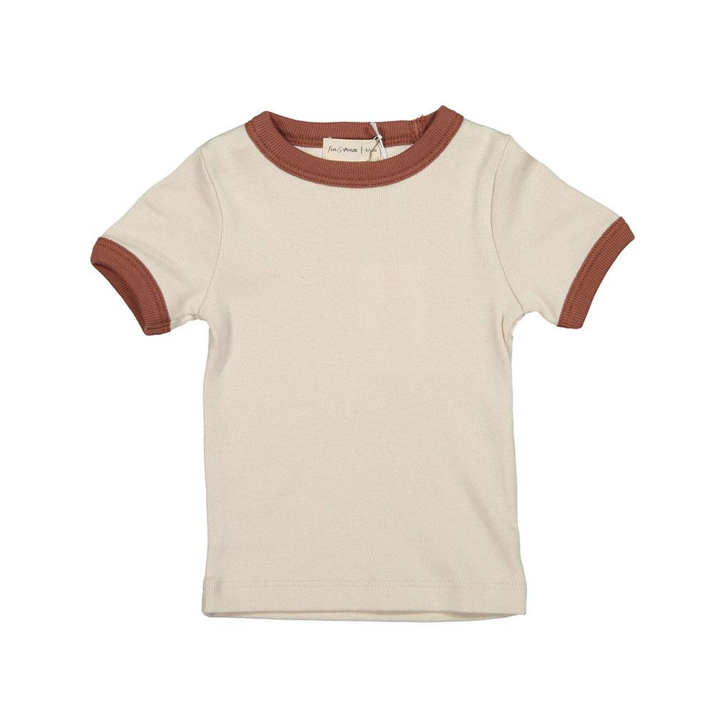 Fin and Vince - Vintage Tee (Oatmeal|Clay)
