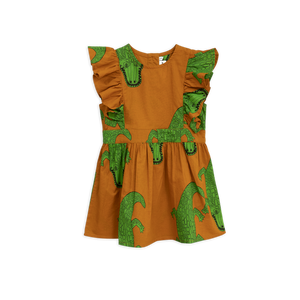 Mini Rodini - Croco Ruffled Dress