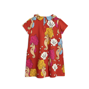 Mini Rodini - Red Seahorse Dress