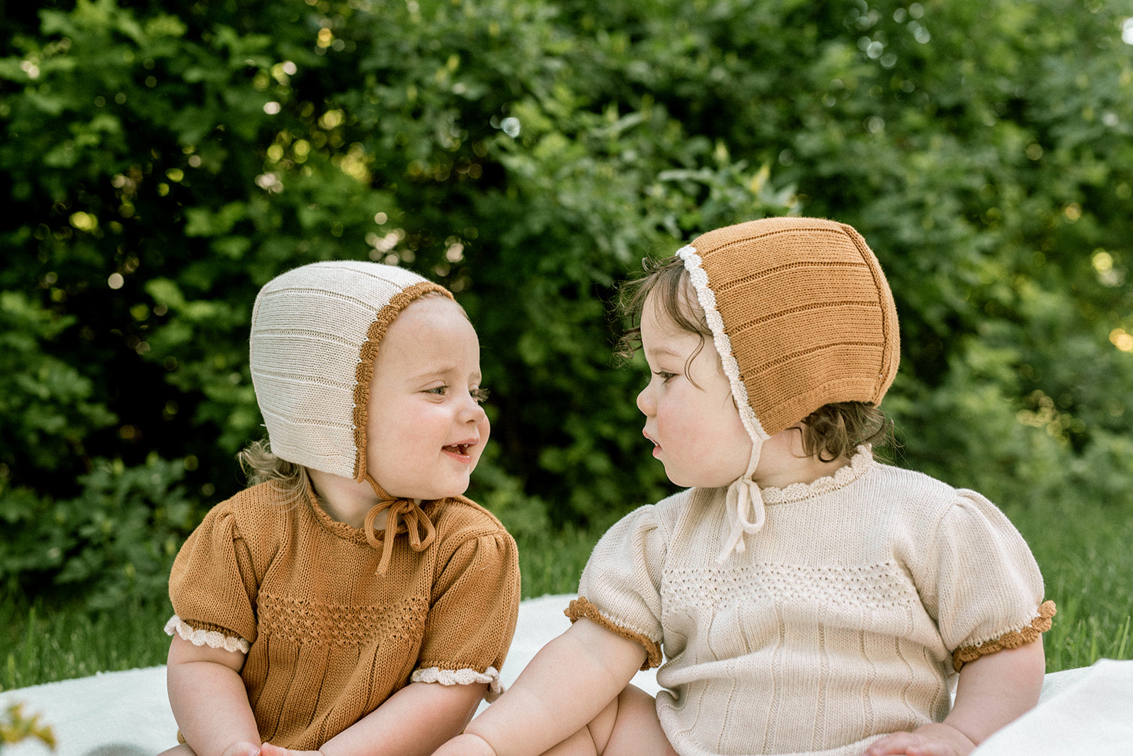 Fin and Vince - Amelia Romper (Toffee)