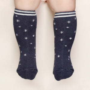 Pop Stars Knee Socks - Navy