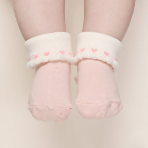 All Hearts Socks - Pink