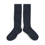 Collégien - Tassel Knee Socks (Navy)