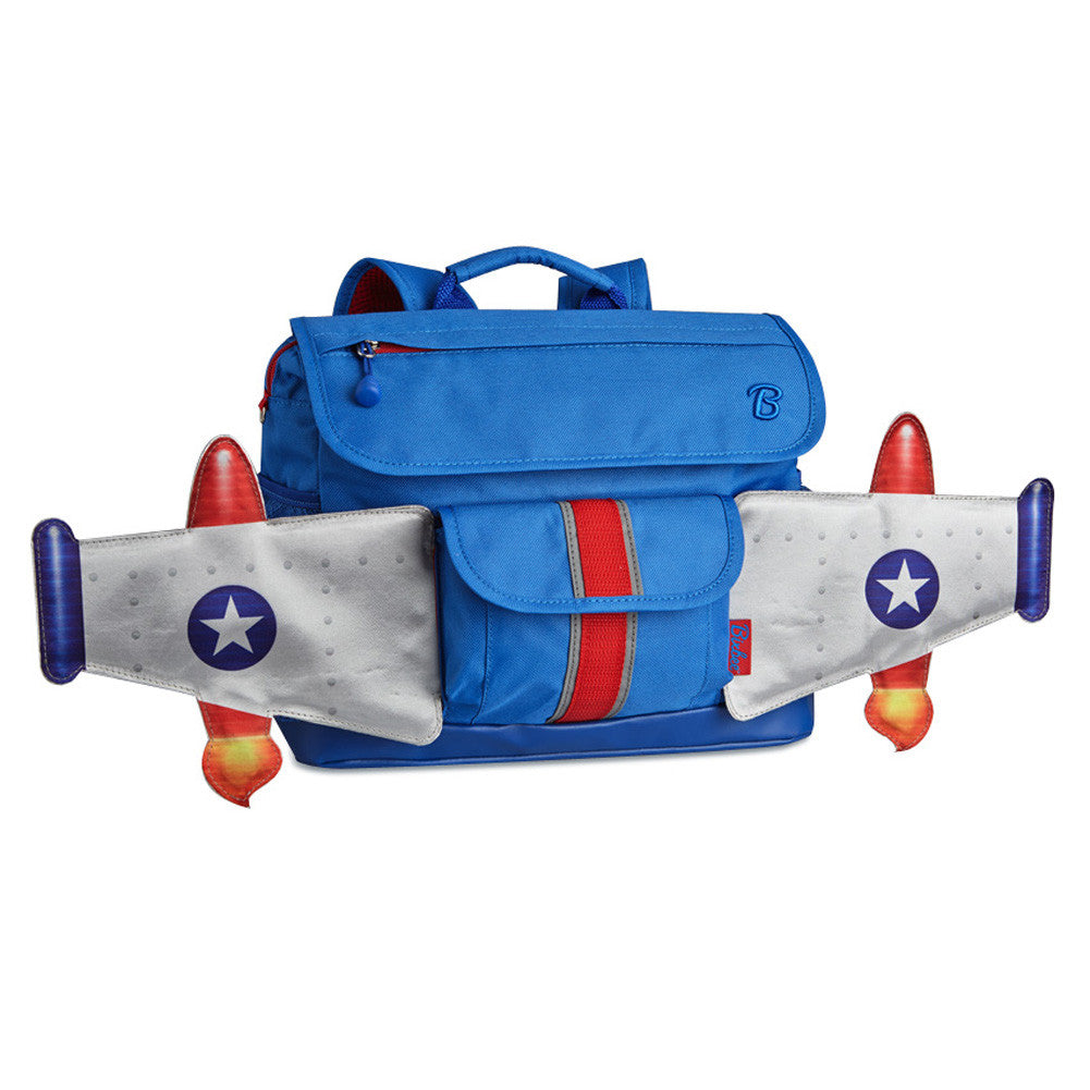 Rocketflyer Blue Backpack