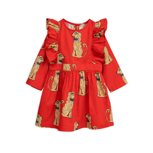 Mini Rodini - Spaniel Woven Ruffle Dress