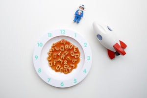 Buddy & Bear - Dinner Time Plate (Mint)