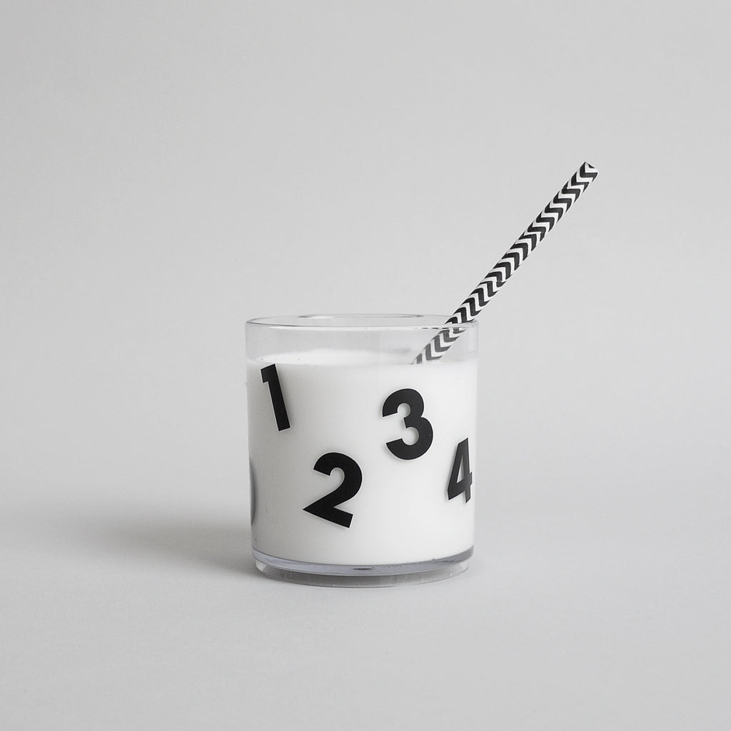 Buddy & Bear - Number Cup (Black - Clear Edition)