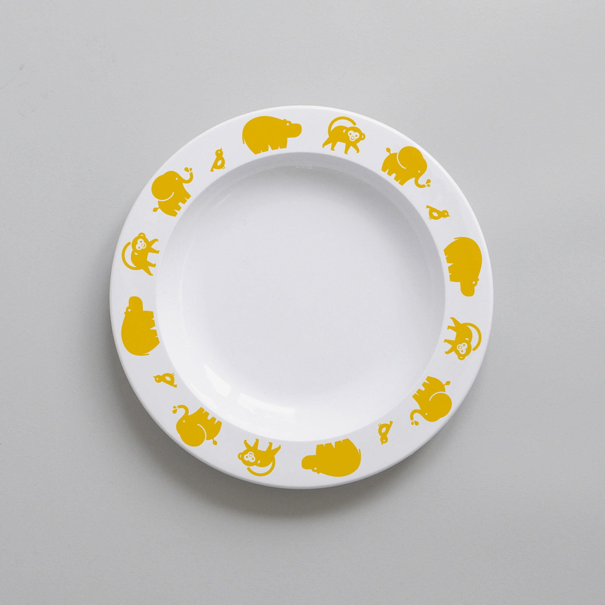Buddy & Bear - Wild Animal Plate