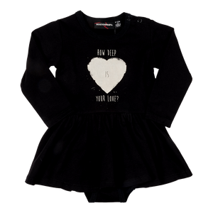 "Rock Your Baby - ""Your Love"" Onesie Dress"