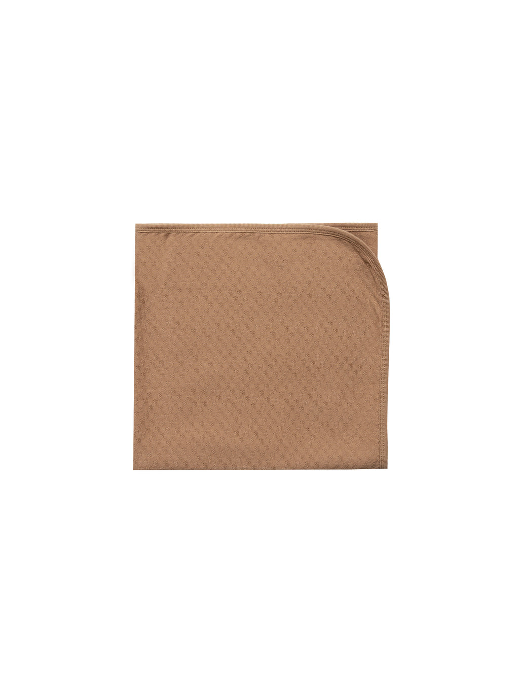 Quincy Mae - Pointelle Baby Blanket (Copper)