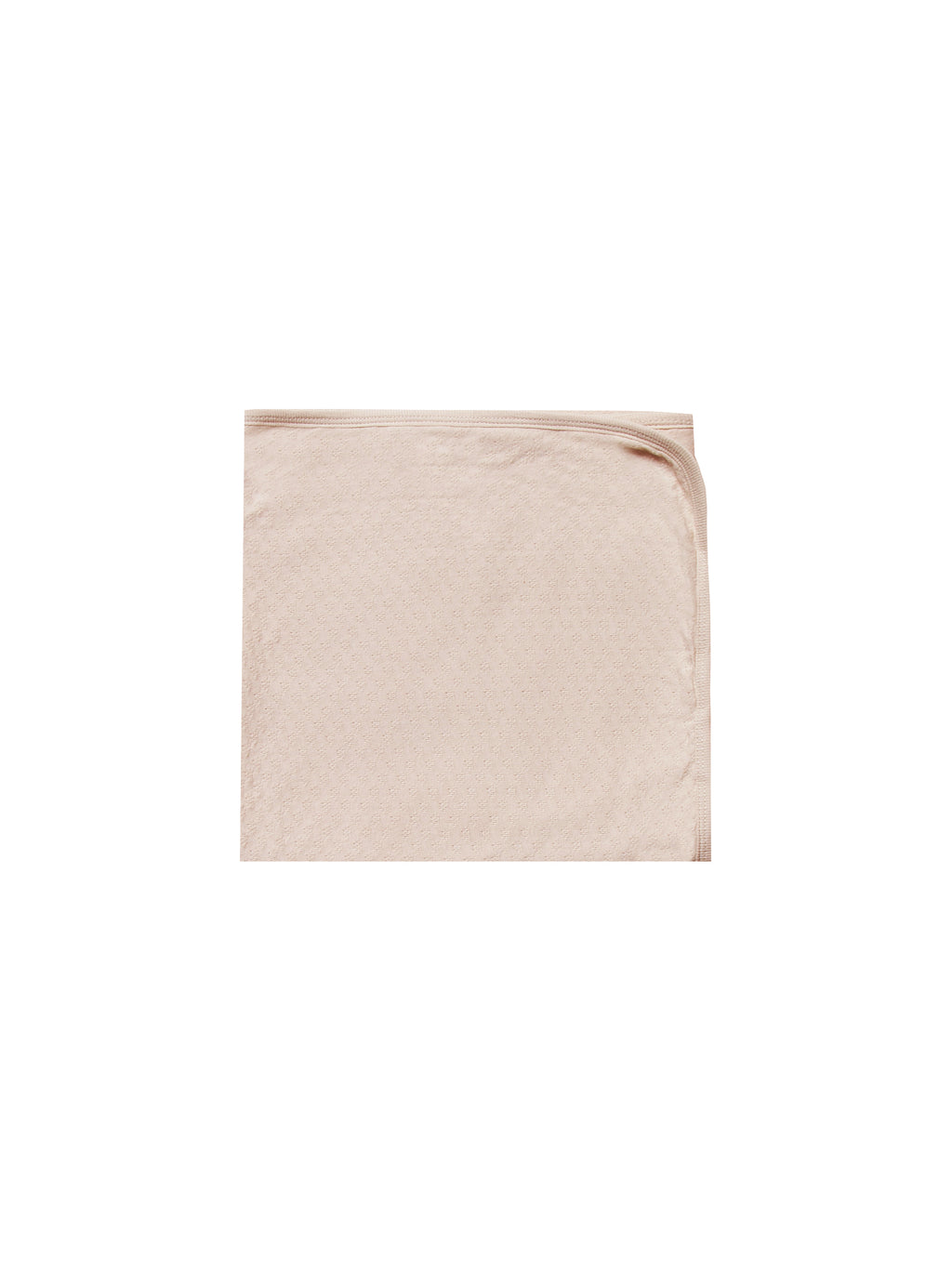 Quincy Mae - Pointelle Baby Blanket (Rose)