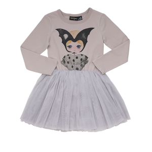 Rock Your Baby - Bat Girl Tutu Dress (2-8Y)