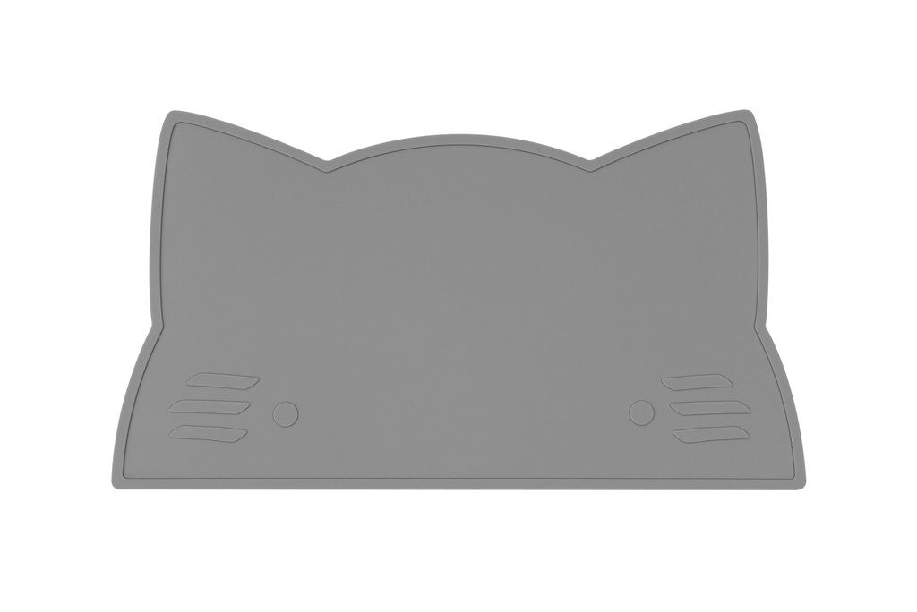 We Might Be Tiny - Cat Silicone Placie - Grey