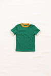 Fin and Vince - Vintage Tee (Emerald/Golden+Oat)