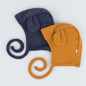 Bear Charcoal Bonnet