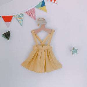 Canary Suspender Skirt