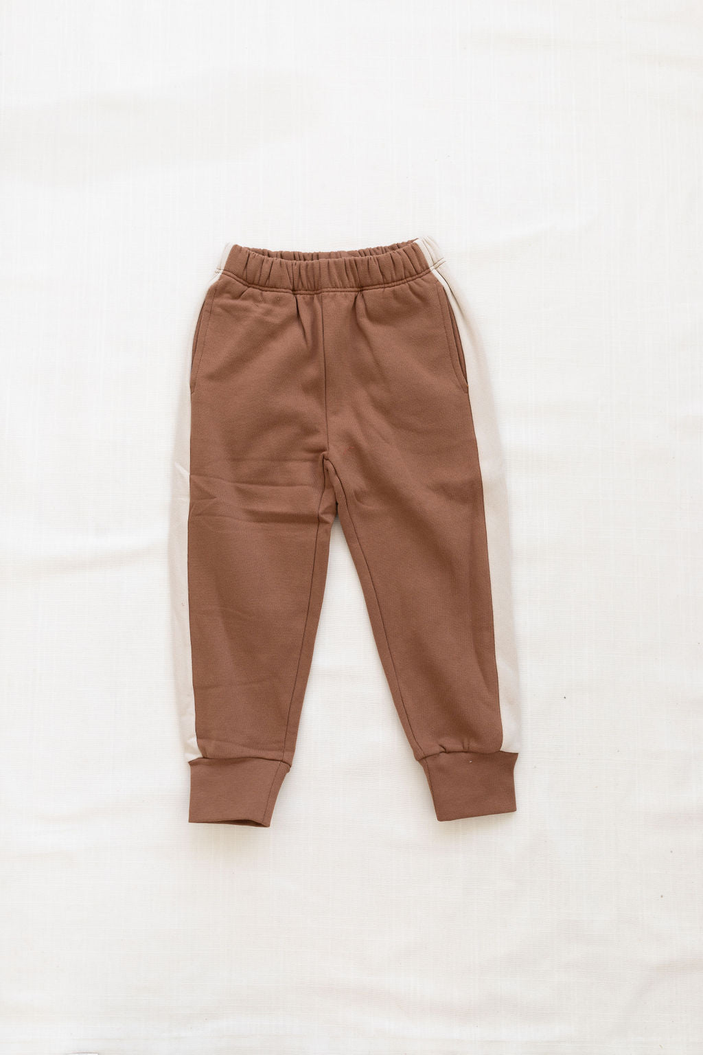 Fin and Vince - Fleece Jogger (Cinnamon) - Last 6/12