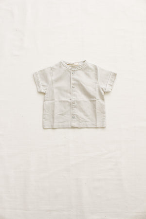Fin and Vince -  Heirloom Button Up (Vintage Stripe)