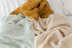 *NEW* Fin and Vince - Cozy Waffle Blanket