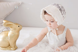Maple Irin Lace Bonnet