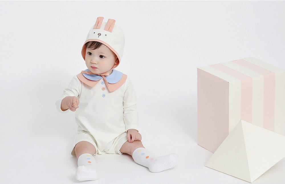 Lapin Peach Bonnet