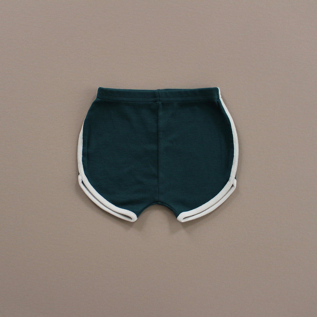 Fin and Vince - Vintage Track Shorts (Forest)