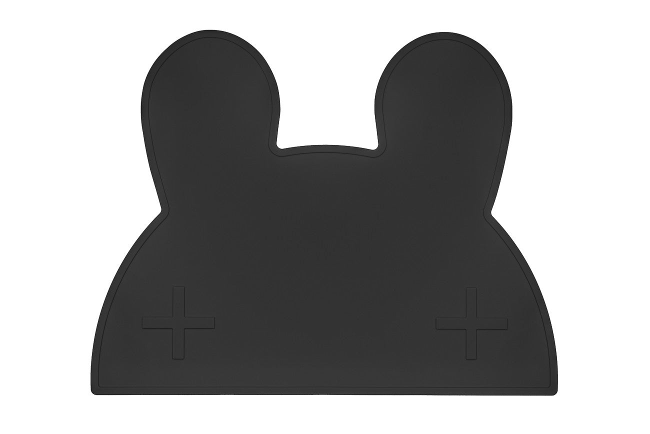 We Might Be Tiny - Bunny Silicone Placie - Black