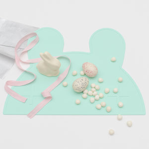 We Might Be Tiny - Bunny Silicone Placie - Minty Green