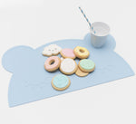 We Might Be Tiny - Bear Silicone Placie - Powder Blue