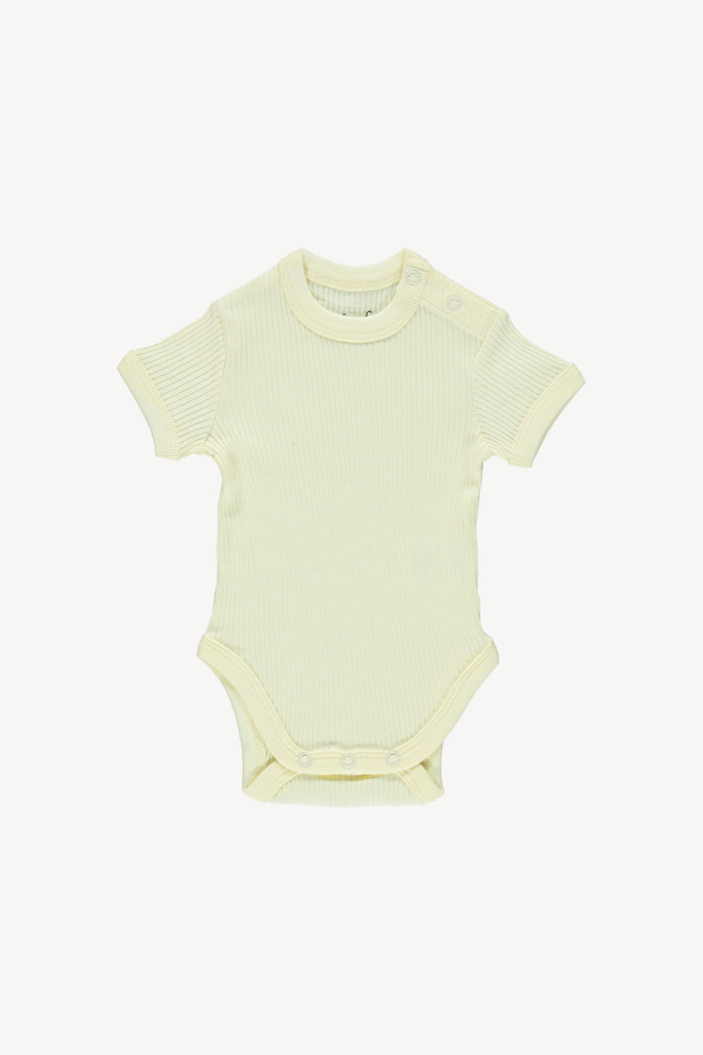 Fin and Vince - Primary Onesie (Buttercream)