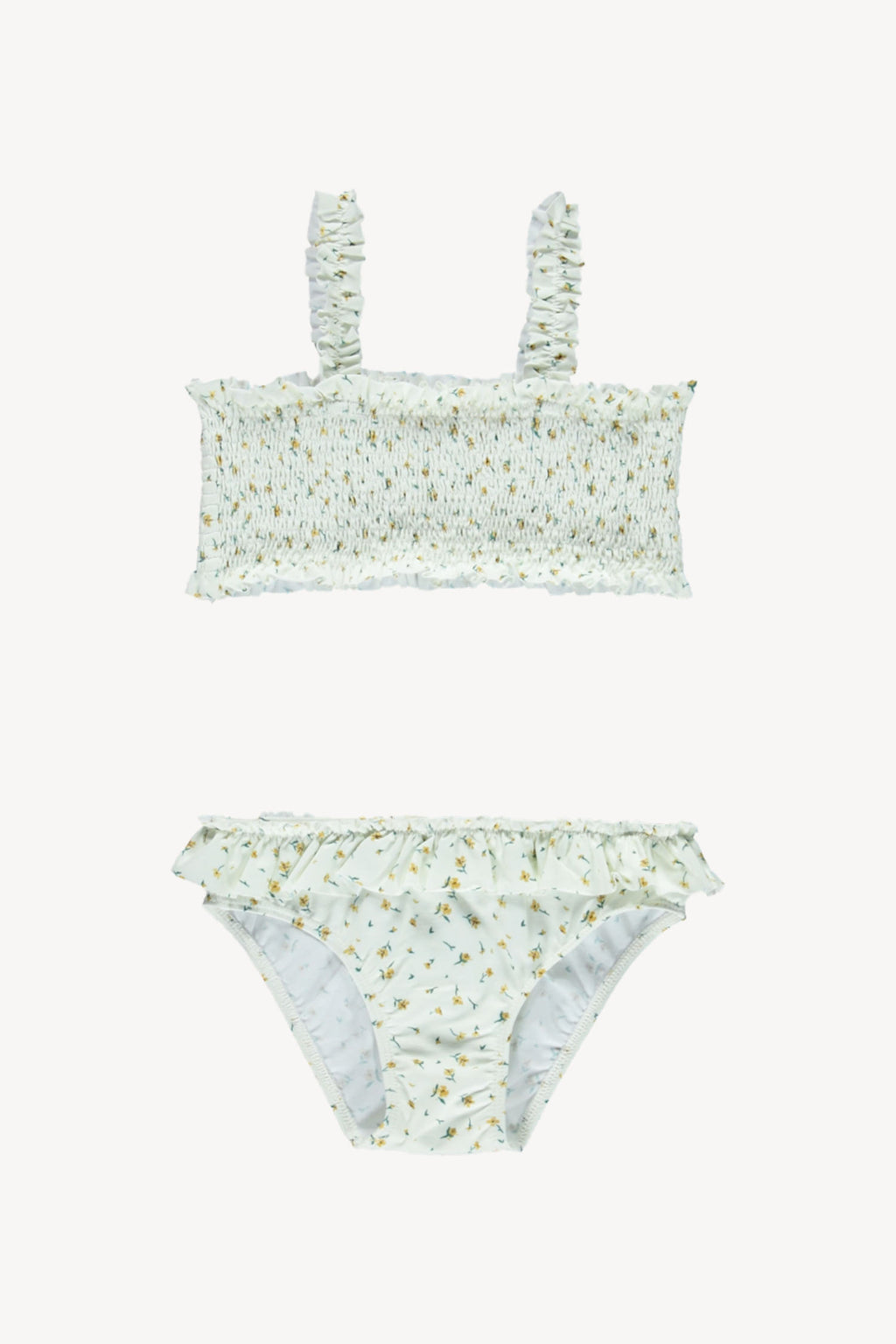 Fin and Vince - Smocked Bikini (Chamomile)