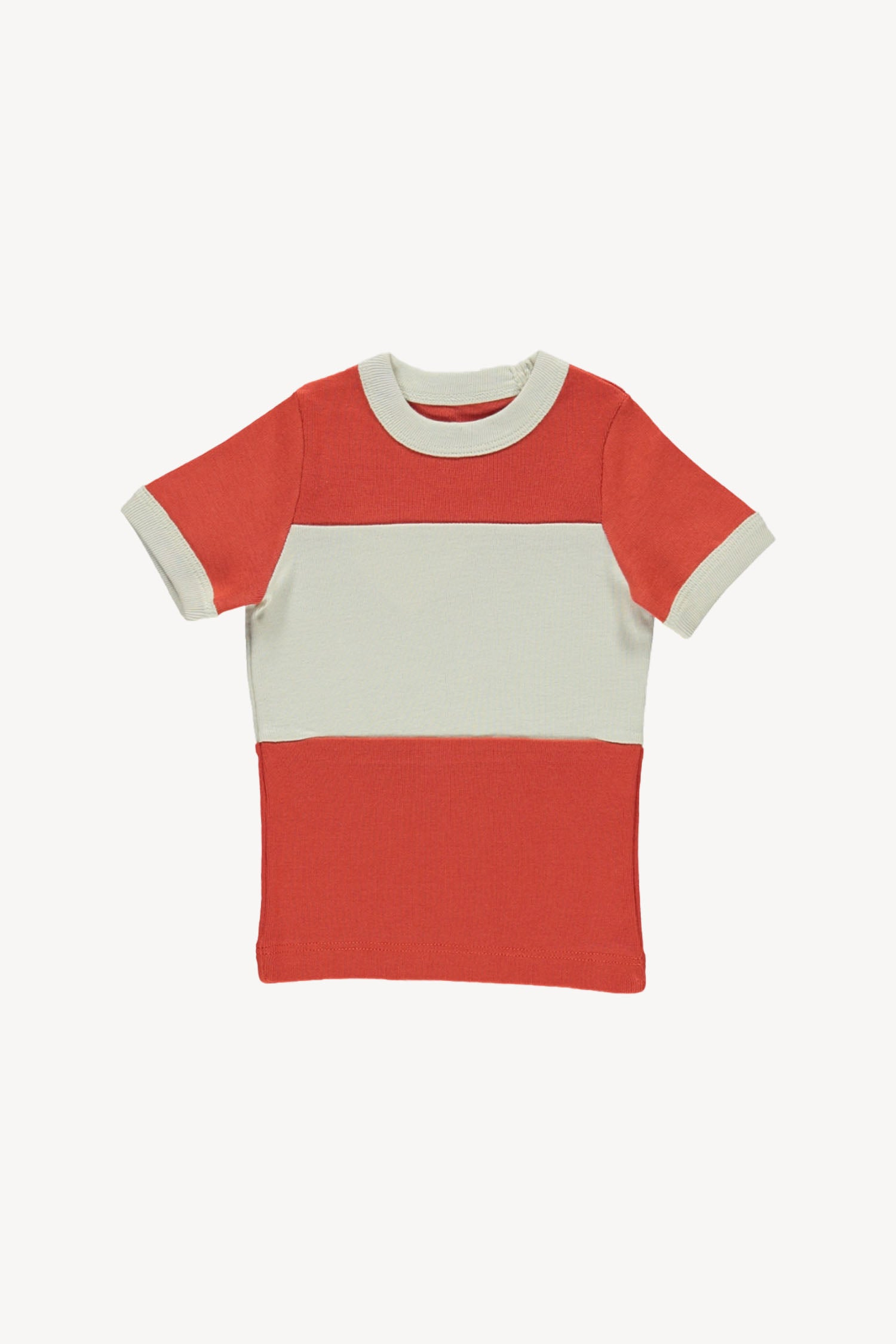 Fin and Vince - Vintage Tee (Brick Red) - Only 12/18