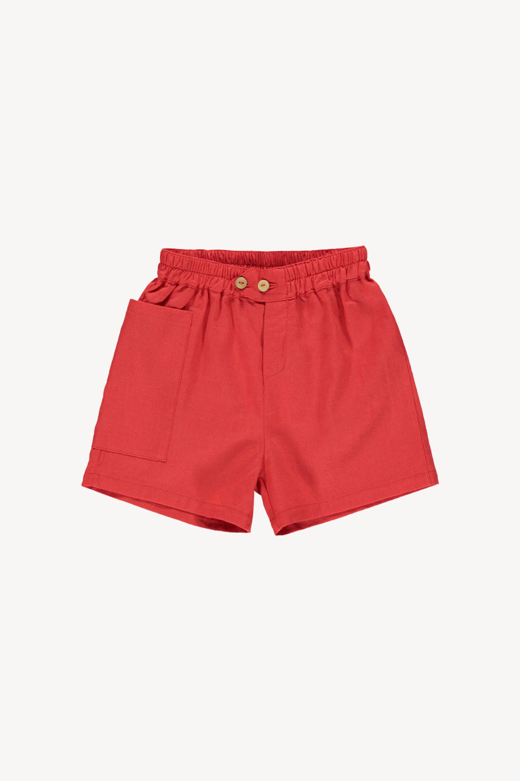 Fin and Vince - High-Waisted Short (Brick Red) - Only 4/5