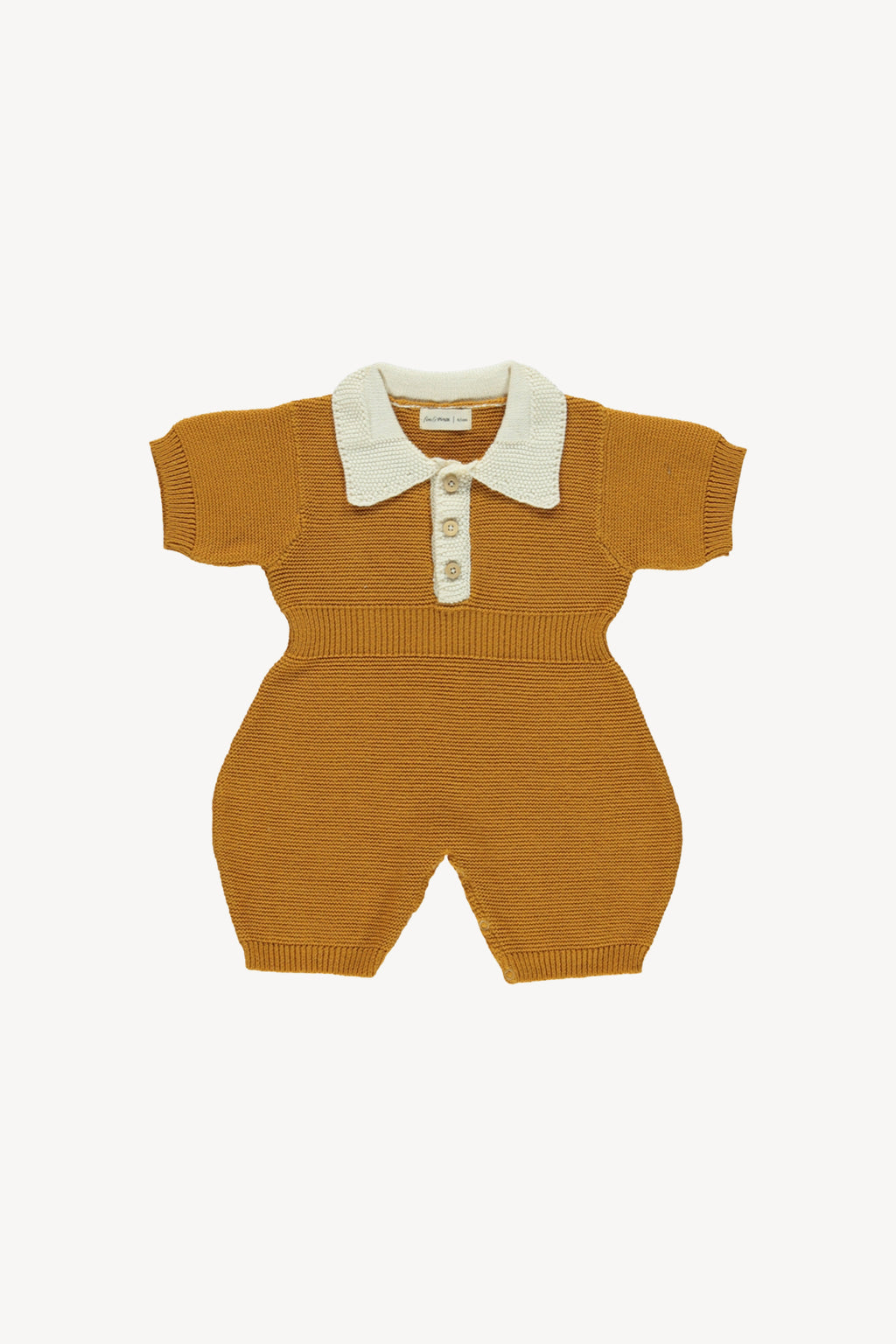 Fin and Vince - Collared Jumper (Wheat)
