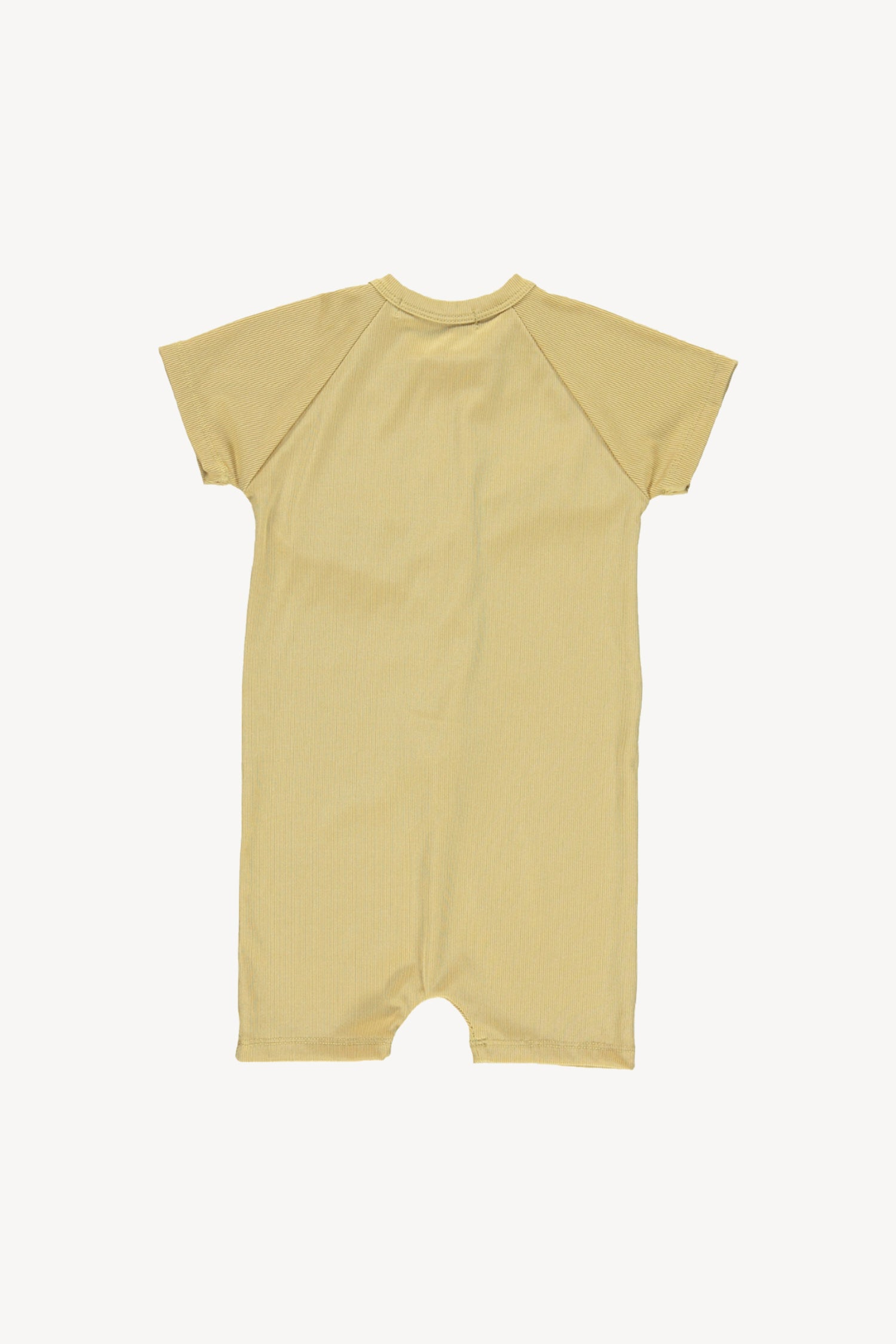 Fin and Vince - Ribbed One Piece Swimmer (Mustard)