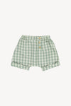 Fin and Vince - Short Trouser (Pistachio Gingham)
