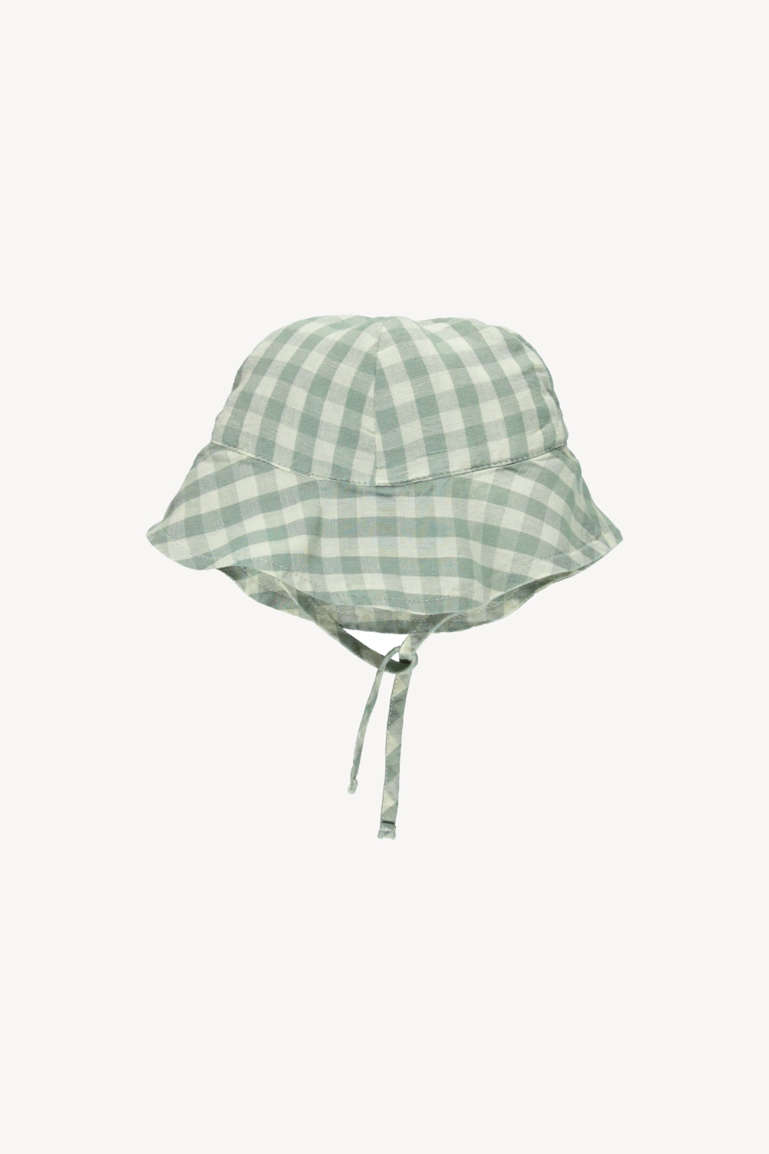 Fin and Vince - Sunhat (Pistachio Gingham) - Only 2/3